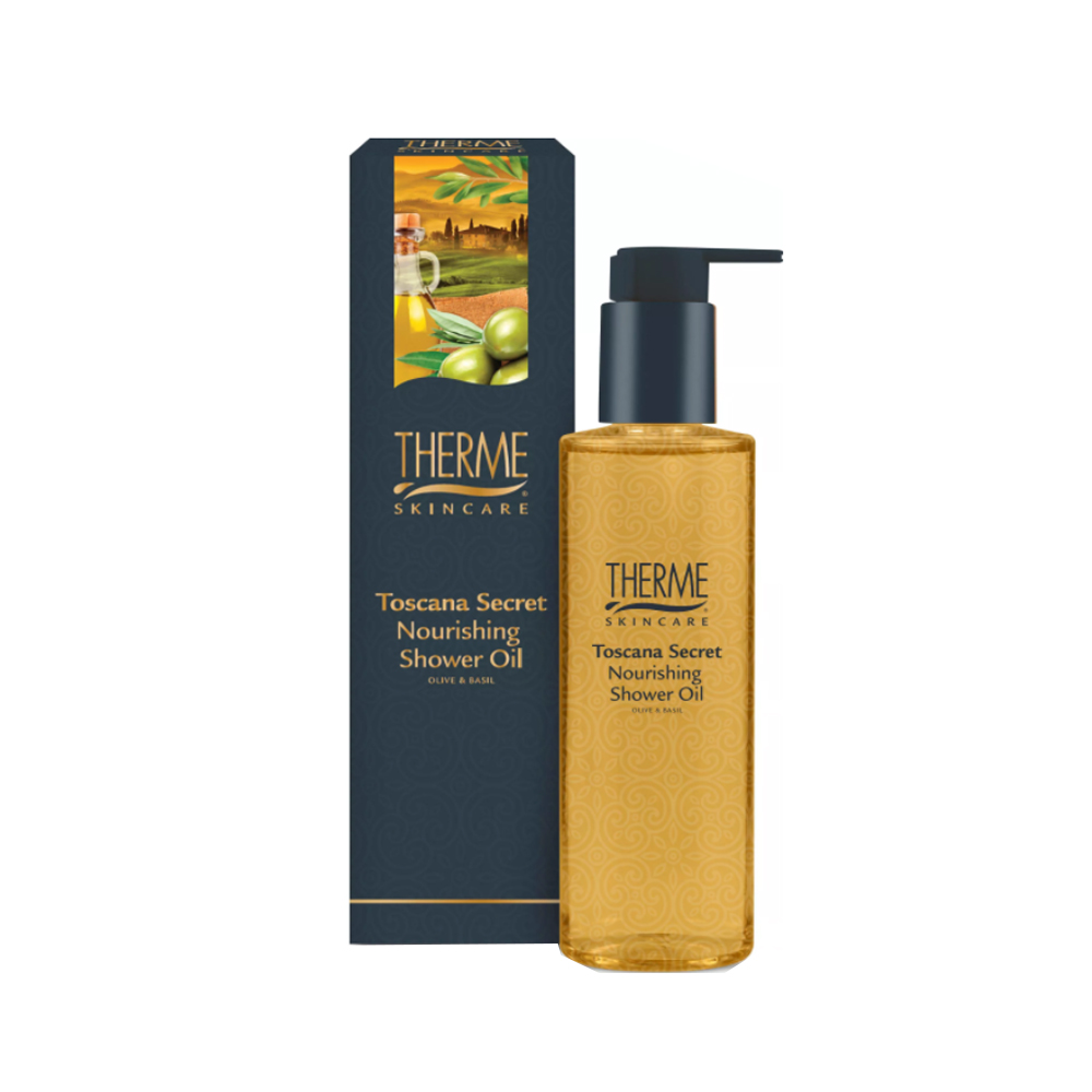 THERME maitinamasis dušo aliejus TOSCANA SECRET, 200 ml
