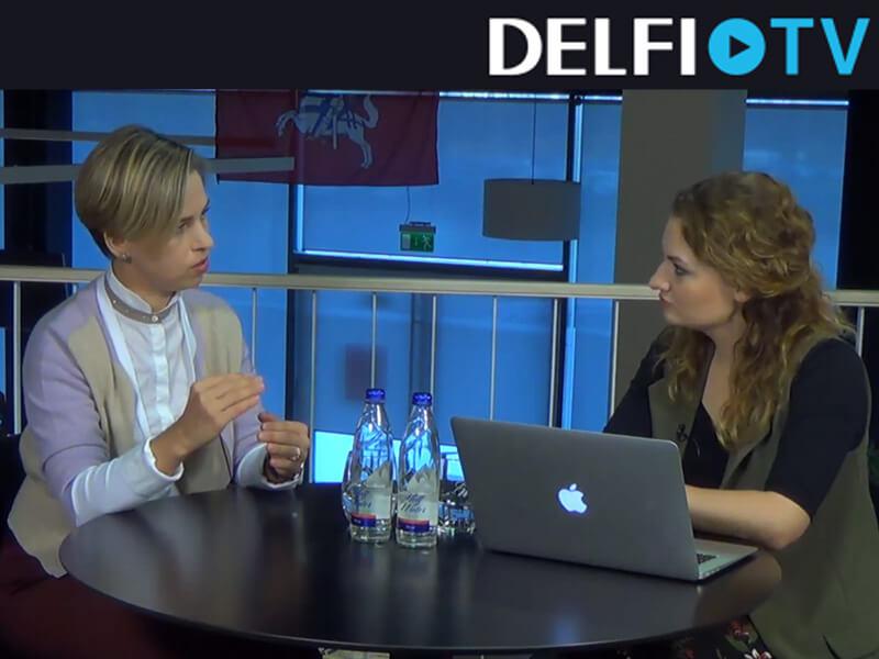 DELFI TV Justė Kantauskaitė