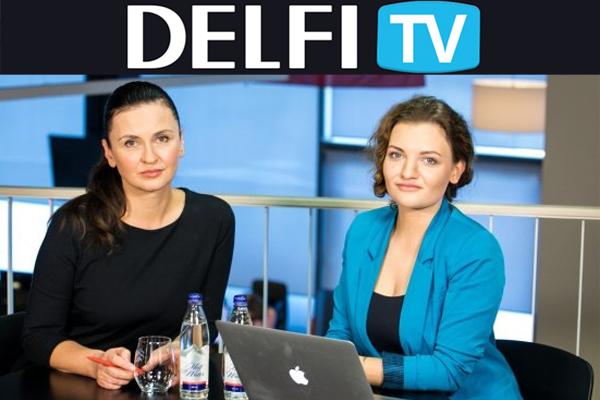 Daina Eidukienė DELFI TV konferencija