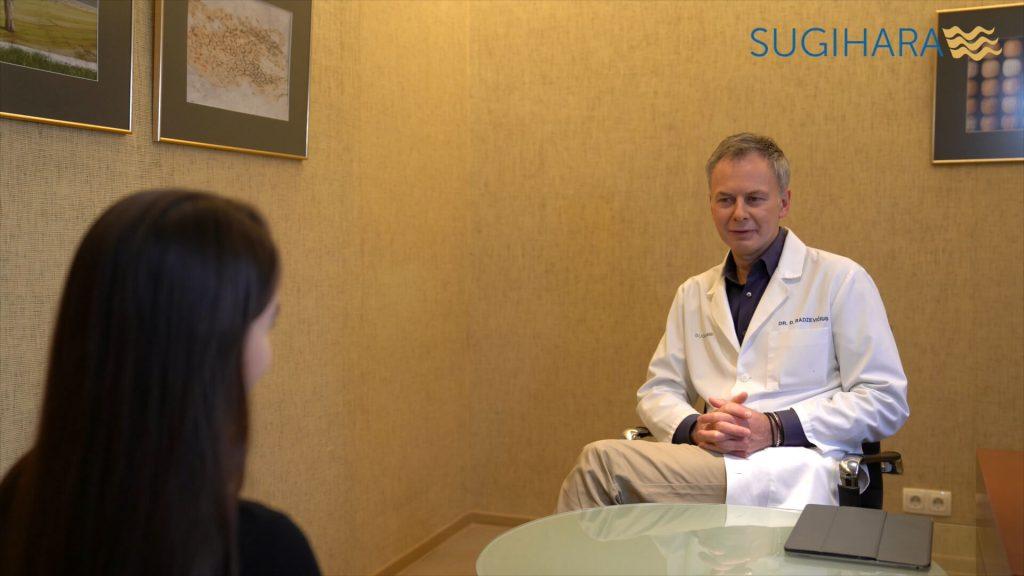 Plastikos chirurgo dr. Dariaus Radzevičiaus konsultacija