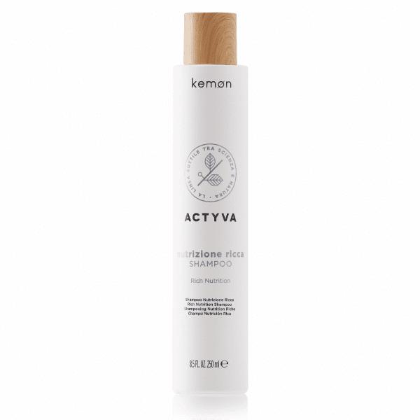 KEMON ACTYVA NUTRIZIONE Sodrus maitinamasis šampūnas