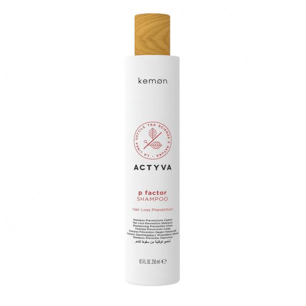 KEMON ACTYVA P FACTOR SHAMPOO Šampūnas nuo plaukų slinkimo