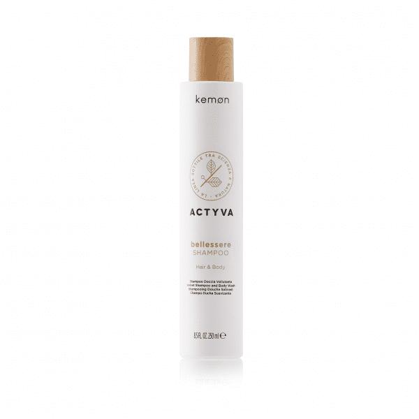 KEMON ACTYVA BELLESSERE aksominis šampūnas ir kūno prausiklis