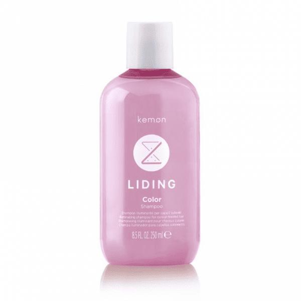 KEMON LIDING COLOR Žvilgesio suteikiantis šampūnas dažytiems plaukams