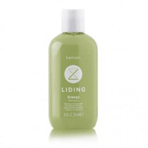 KEMON LIDING ENERGY Energizuojantis šampūnas trapiems ir slinkti linkusiems plaukams