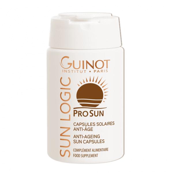 GUINOT Age Sun priešraukšlinės įdegio kapsulės