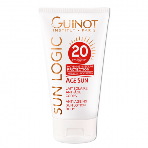 GUINOT Age Sun #priešraukšlinis losjonas nuo saulės kūnui SPF20