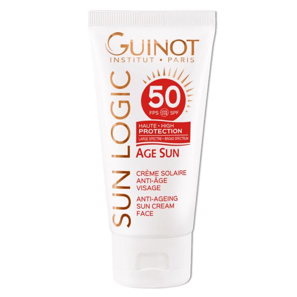 GUINOT Age Sun priešraukšlinis kremas veidui SPF50