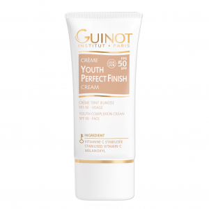GUINOT Youth Perfect Finish jauninamasis kremas su spalva SPF50