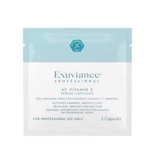 EXUVIANCE PROFESSIONAL AF Vitamin C20 Serum Capsules Vitamino C serumas kapsulėse