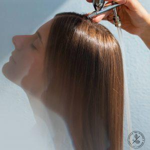 deguonies procedura plaukams