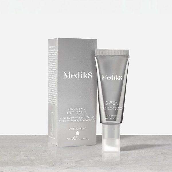 Medik8 Crystal Retinal 3 Stabilus retinalio serumas nakčiai