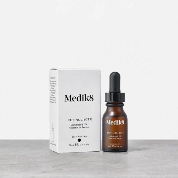 medik8 retinolio serumas nakciai