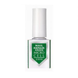 Micro Cell Nail Repair Green Nagų stipriklis be formandehido