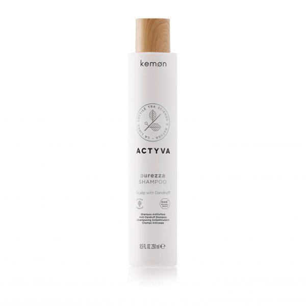KEMON ACTYVA PUREZZA Pleiskanotos galvos odos šampūnas