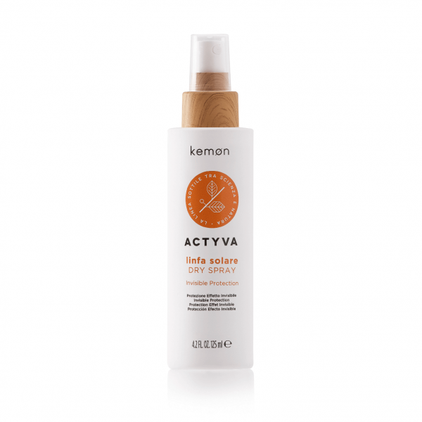 KEMON ACTYVA LIMFA SOLARE Sausa purškiama priemonė plaukams