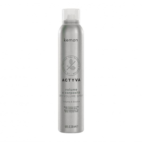 KEMON Actyva Linfa Solare apimties suteikianti purškiama plaukų formavimo priemonė