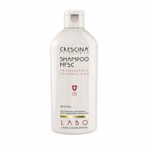 CRESCINA TRANSDERMIC RE-GROWTH pilinguojantis šampūnas MOTERIMS, plaukų atauginimui