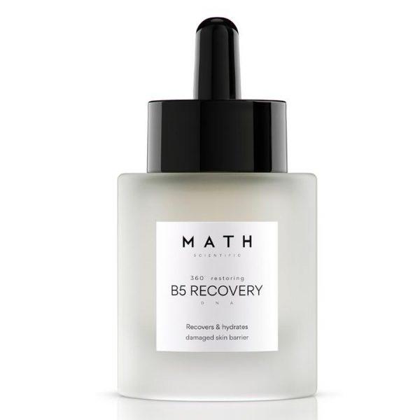 """MATH Vitaminizuojantis serumas nuvargintai odai """"B5 RECOVERY"""""""